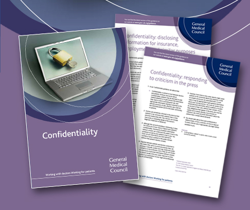 Confidentiality guidance covers