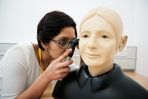 Patient Simulator  in a PLAB exam