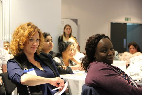 Attendees at 'the Doctor's dilemma' event in Birmingham