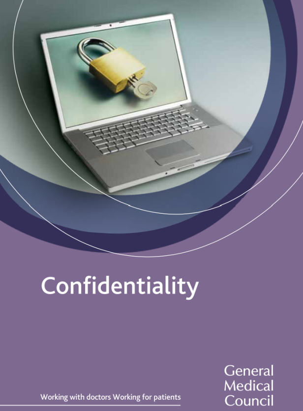Confidentiality guidance booklet cover
