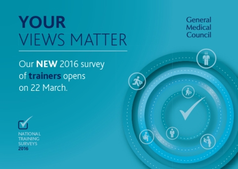 Your views matter- National Trainers Survey