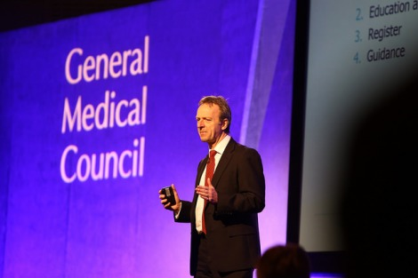 Prof Terence Stephenson speaks at the GMC Conference 2015