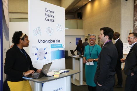 Andrea Callender discusses unconscious bias at the GMC Conference 2015