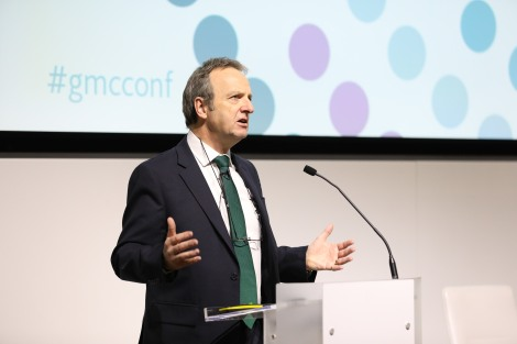 Prof Terence Stephenson speaks at GMC conference 2016