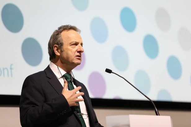 Terence Stephenson speaks at GMC conference 2016