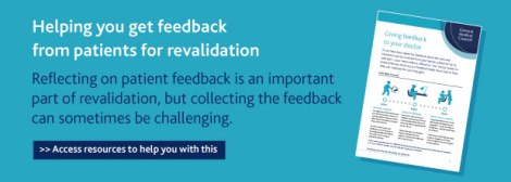 Helping you get feedback from patients banner