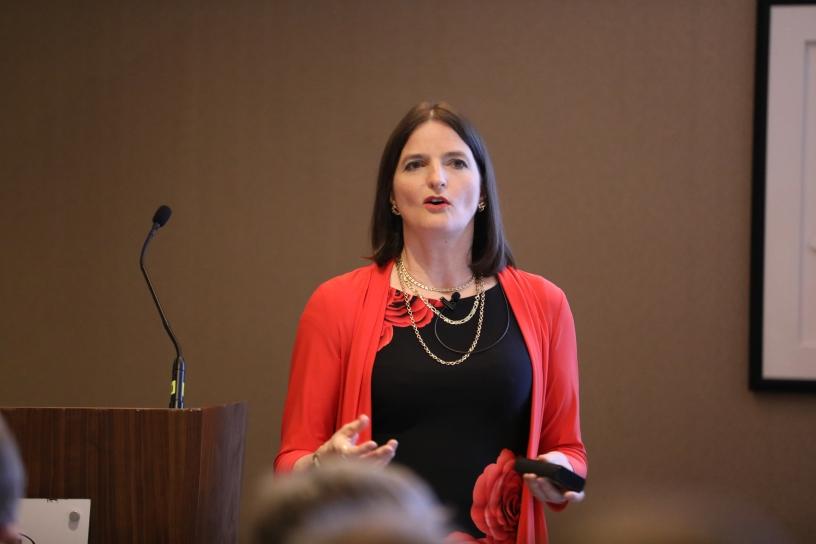 Dr Susi Caesar gives a presentation at IAMRA Symposium 2017