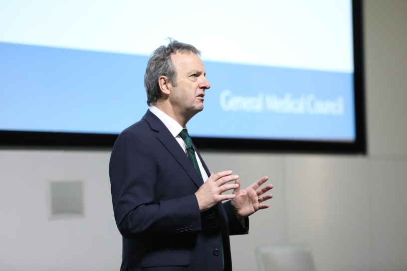 Prof Sir Terence Stephenson speaks at GMC conference 2018